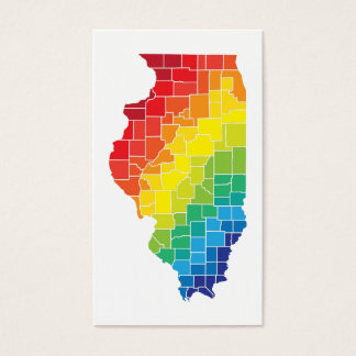 illinois color counties