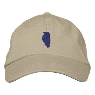 Illinois Embroidered Hat