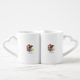 Illinois Flag Coffee Mug Set