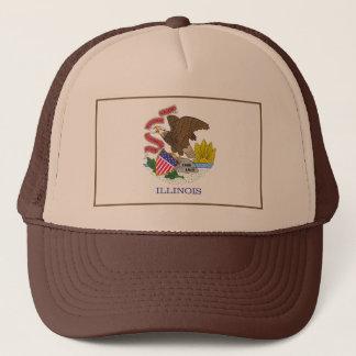 Illinois Flag Hat