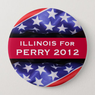 Illinois For PERRY 2012 Button