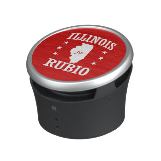 ILLINOIS FOR RUBIO BLUETOOTH SPEAKER