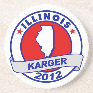 Illinois Fred Karger Coaster