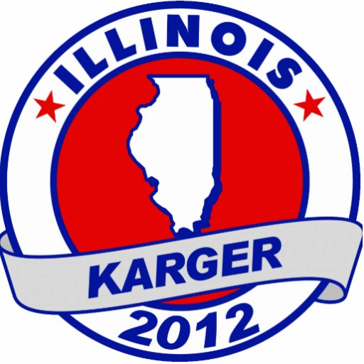 Illinois Fred Karger Photo Cut Outs