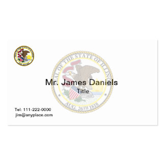 Illinois Great Seal Pack Of Standard Business Cards