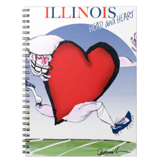 illinois head heart, tony fernandes notebooks