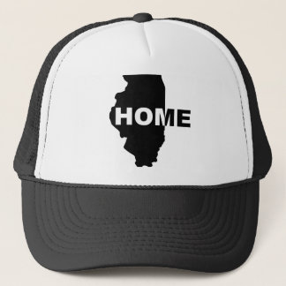 Illinois Home Away From Home Ball Cap Trucker Hat