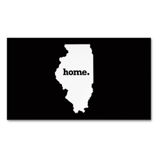 Illinois Home Magnetic Business Cards