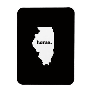 Illinois Home Rectangular Photo Magnet