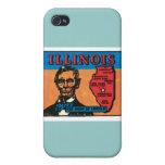 Illinois IL Vintage State Label