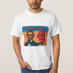Illinois IL Vintage State Label Shirt