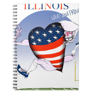 illinois loud and proud, tony fernandes notebooks