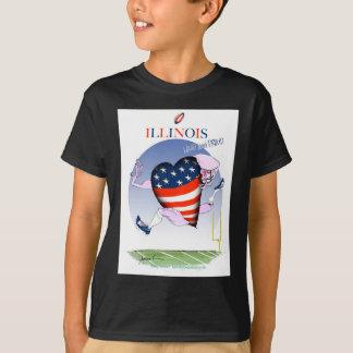 illinois loud and proud, tony fernandes T-Shirt