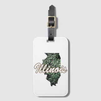 Illinois Luggage Tag