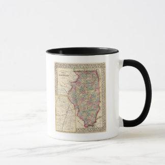 Illinois Map by Mitchell Mug