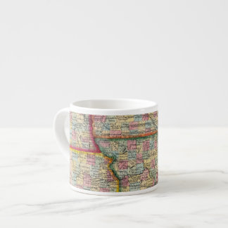 Illinois, Missouri, Iowa, Nebraska And Kansas Espresso Cup