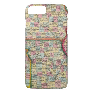 Illinois, Missouri, Iowa, Nebraska And Kansas iPhone 8 Plus/7 Plus Case