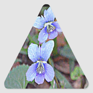 Illinois Native Violet Sticker