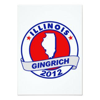 Illinois Newt Gingrich Announcement