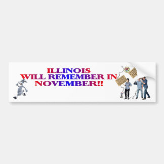Illinois - Return Congress To The People!! Bumper Sticker