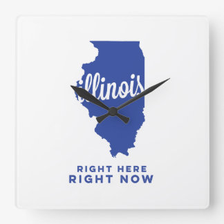 illinois | right here, right now | blue clock