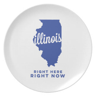 illinois | right here, right now | blue plate
