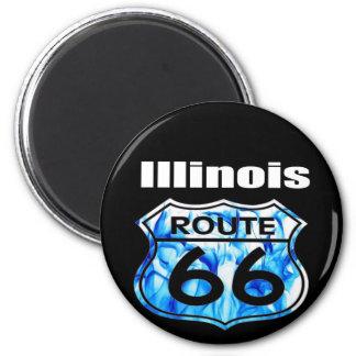 Illinois Route 66 Magnet