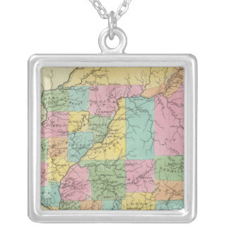 Illinois Silver Plated Necklace