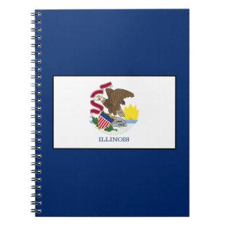 Illinois Spiral Notebook