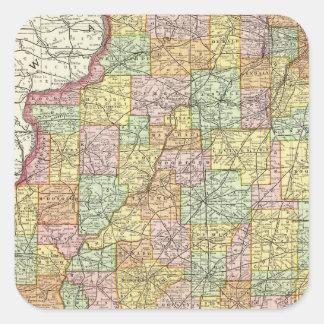 Illinois Square Sticker