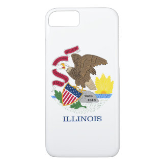 Illinois State Flag iPhone 8/7 Case