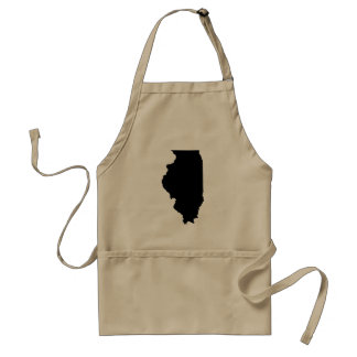 Illinois State Outline Aprons