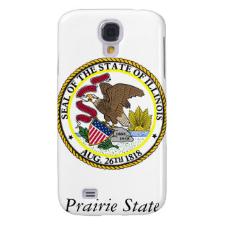 Illinois State Seal and Motto Galaxy S4 Case