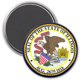 Illinois State Seal Magnet