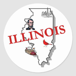 Illinois Sticker