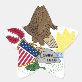 Illinois Star Stickers