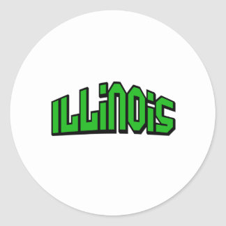Illinois Stickers