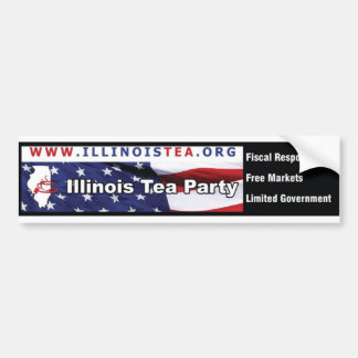 Illinois Tea Party bumper sticker