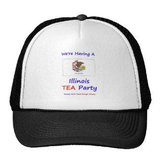 Illinois TEA Party - We're Taxed Enough Already! Hat