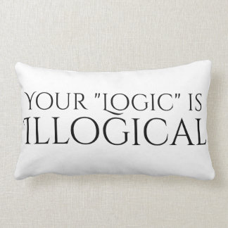 Illogical Logic Lumbar Cushion