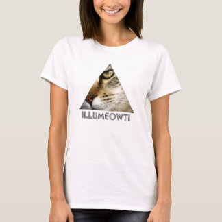 Illumeowti T-Shirt (Black Text)
