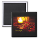 Illuminate the night refrigerator magnets