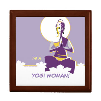 Illuminate woman or Yogini, with full 'moon mind' Gift Box