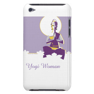 Illuminate woman or Yogini, with full 'moon mind' iPod Touch Case-Mate Case