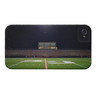 Illuminated American football field at night Case-Mate iPhone 4 Cases