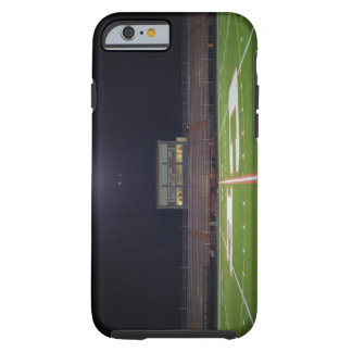 Illuminated American football field at night Tough iPhone 6 Case