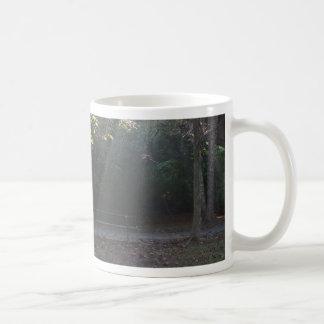 Illuminated Bench Basic White Mug