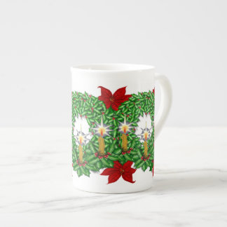 Illuminated Christmas Bone China Mug
