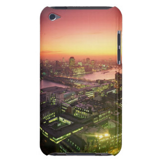 Illuminated Cityscape Barely There iPod Covers