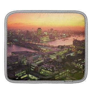 Illuminated Cityscape iPad Sleeve
